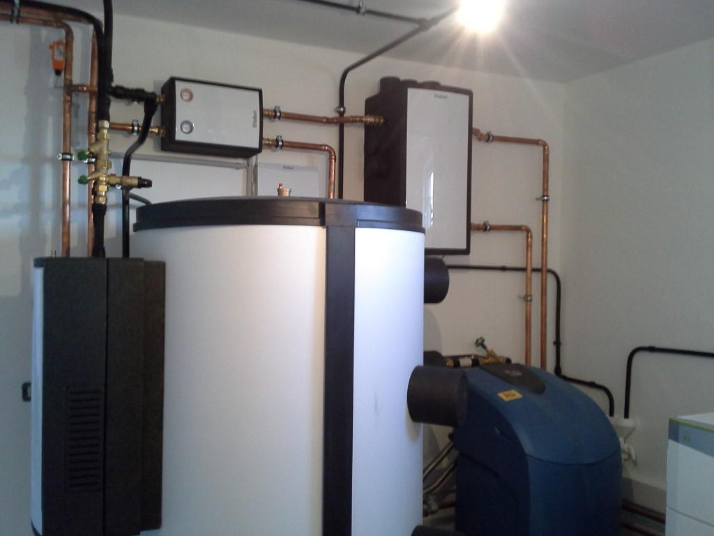 Multi-Funktionsspeicher allSTOR excllusiv 800 Liter zu Vaillant Heizungswärmepumpe flexoTHERM Sole/Wasser [Ottenthal]