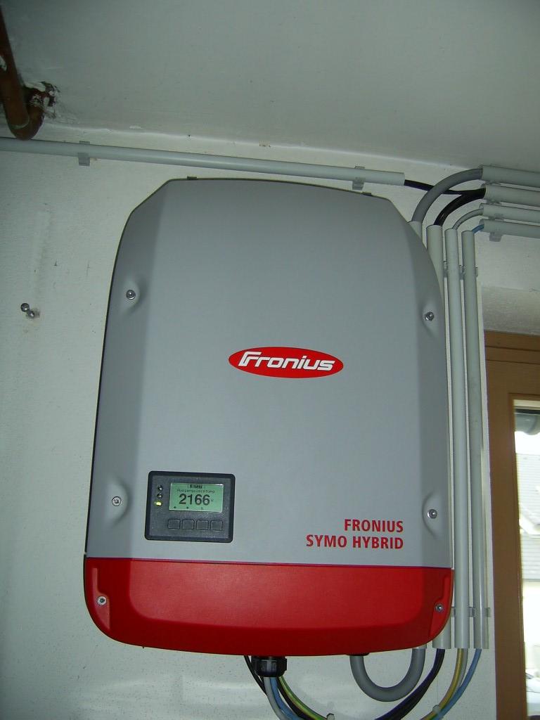 Wechselrichter Fronius Hybrid 4.0-S  [ Herr Skol, Ziersdorf]